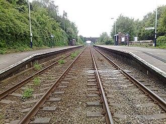 Ince & Elton railway station - Image: Ince Elton 2