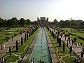 Inde Uttar Pradesh Agra Taj Mahal Portail Bassin Jardin - panoramio.jpg