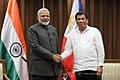 Indian Prime Minister Narendra Modi and Philippines President Rodrigo Roa Duterte meeting in Manila, 2017 (9).jpg