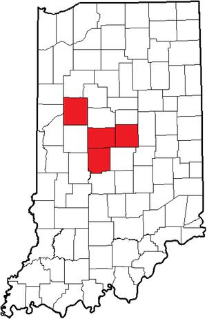 Hoosier Crossroads Conference - Image: Indiana (HCC)