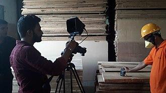 Industrial video - Industrial Video Shooting in progress