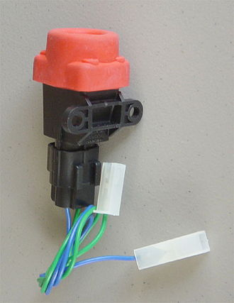 Inertial switch - A disconnect switch