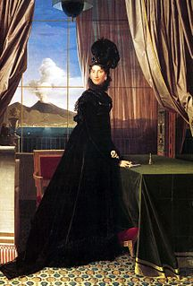 <i>Portrait of Caroline Murat, Queen of Naples</i> painting by Jean Auguste Dominique Ingres