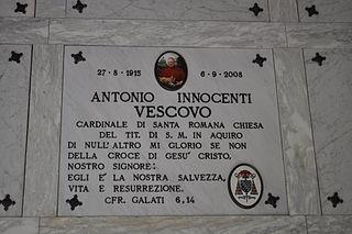 Antonio Innocenti Catholic cardinal
