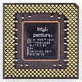 Intel microprocessor Pentium MMX 233 - SL27S-4327.jpg