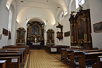 Interior of the Church of the Finding of the True Cross (Brno) 11.jpg