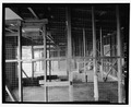Interior view of garage bay, looking south - Fort Baker, Garage, Umia Street parking lot, Sausalito, Marin County, CA HABS CA-2643-E-6.tif