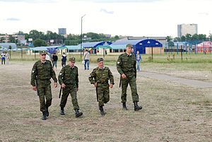 Internal Troops of Russia - A group of Internal Troops of the MVD RF in 2007