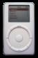 2ª geração iPod (2002).