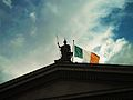 Ireland flag in Dublin.jpg