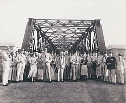 View of Iritty Bridge built in 1933