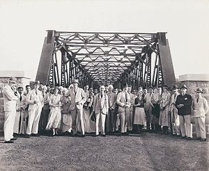 Iritty - View of Iritty Bridge built in 1933