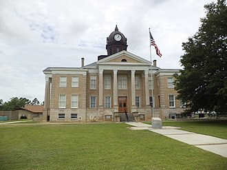 Irwin County, Georgia - Image: Irwin County Courthouse (East face)