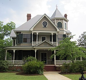 Hampton Heights - The Irwin House is one of the oldest and grandest homes in Hampton Heights.
