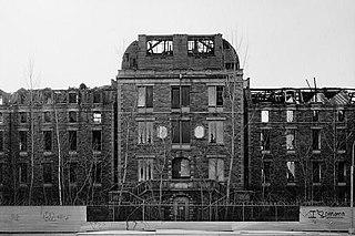 City Hospital (Roosevelt Island) United States historic place
