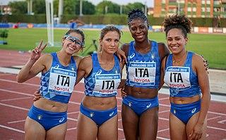 Italian national track relay team