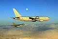 Italian Air Force Boeing KC-767A and Czech Air Force Saab JAS-39 Gripen (1).jpg