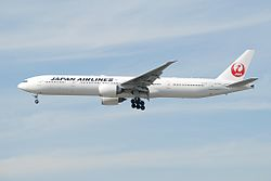 Boeing 777-300ER der Japan Airlines