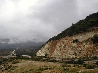 Jabal al Akhdar - Road in the district