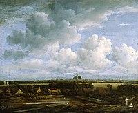 Jacob van Ruisdael - View of Bleaching Fields near Haarlem - 1945 920 IN1.jpg