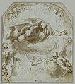 Jacopo Negretti - God the Father with the Dove, Two Putti and a Nimbus of Cherubim - Google Art Project.jpg