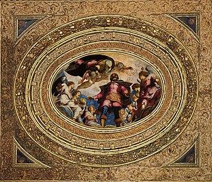San Rocco in Gloria, 1564, Scuola Grande di San Rocco