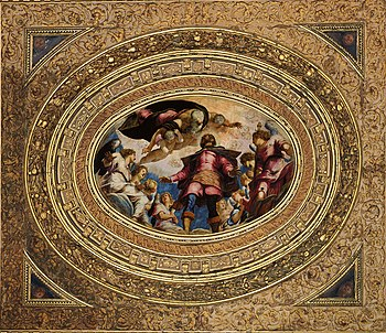 Tintoretto: Glory of St.  Rochus of Montpellier