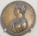 Jacopo da trezzo, medaglia di ippoltita gonzaga, milano 1552, recto.JPG