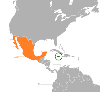 Diplomatic relations between Jamaica and the United Mexican States
