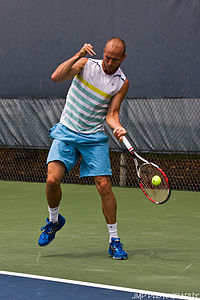 James Cerretani at the 2009 Indianapolis Tennis Championships 01.jpg