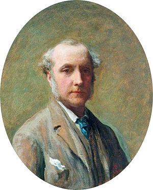 James Sant - Self-portrait by James Sant (1844)
