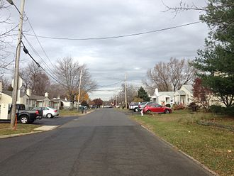 Warminster Township, Bucks County, Pennsylvania - Jamison Street in Warminster Heights
