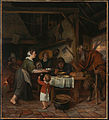 Jan Steen (Dutch - The Satyr and the Peasant Family - Google Art Project.jpg