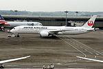Japan Airlines Boeing 787-9 (JA861J-35422-139) (20540553676).jpg