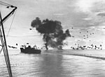 Japanes air attack on shipping off Guadalcanal, 12 November 1942.jpg