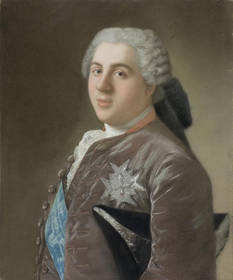Жан-Этьен Лиотар - портрет Ван де Луи Bourbon.jpg