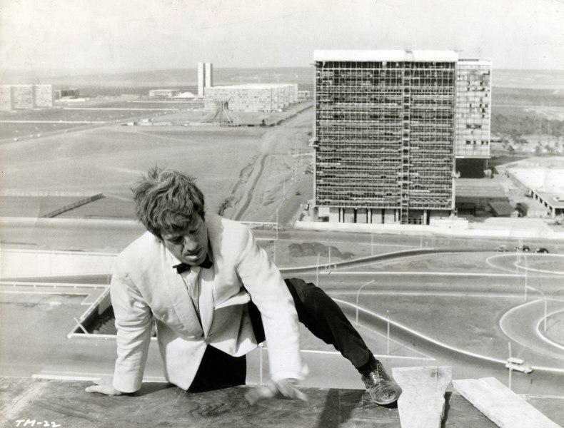 Jean Paul Belmondo em O Homem no Rio