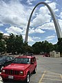 Jeep Cherokee (XJ) Limited red Gateway Arch 1.jpg