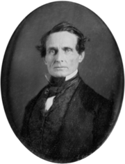Jefferson Davis 1853 daguerreotype-restored