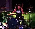 Jeffrey Gilbert, drummer for Kutless (2008).jpg