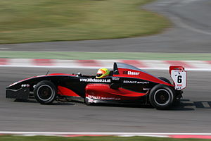 CRS Racing - Jeremy Metcalfe driving an AKA Cobra Formula Renault car during the 2007 championship