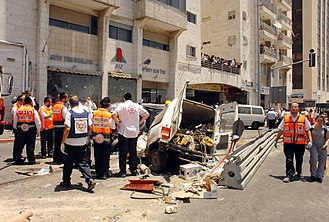 Vehicle-ramming attack - The 2008 Jerusalem bulldozer attack, killed three.