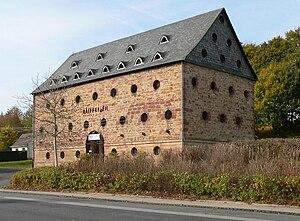 Tithe barn - Former tithe barn in Jesberg (Germany)
