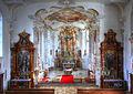 Jettingen-Scheppach, Wallfahrtskirche Allerheiligen, Chor und Hochaltar 2010.jpg