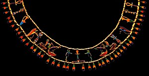 Amenemhat II - Necklace of Princess Khenmet, daughter of Amenemhat II