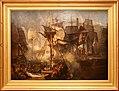 Jmw turner, la battaglia di trafalgar vista dal tribordo della mizen, testimoni della vittoria, ante 1806-08.jpg