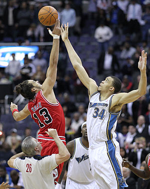 Joakim Noah and JaVale McGee