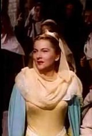 Ivanhoe (1952 film) - Joan Fontaine in Ivanhoe