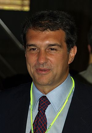 Joan Laporta, (born June 29, 1962 in Barcelona...