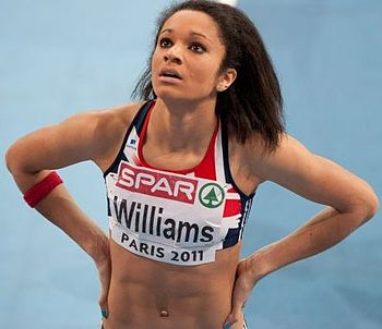 English: Jodie Williams at the 2011 European A...
